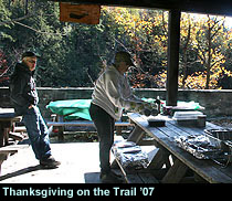 Thanksgiving on the Trail in Fahnestock, NY